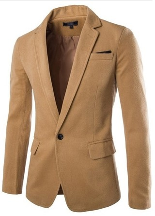 Modern Casual Blazer One Button - Fall / Winter - in 4 Colors