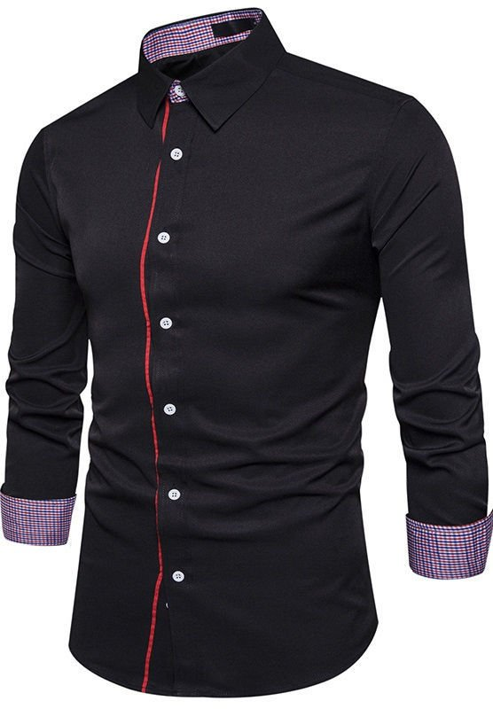 Camisa de Estilo Europeo Fashion - en 4 Colores