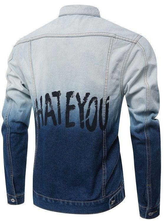 Chaqueta de Jeans Fashion Juvenil en Dos Colores - I Hate You - comprar online