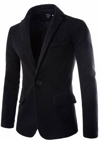 Casual Slim Fit Blazer Classic - one Button - in 5 Colors