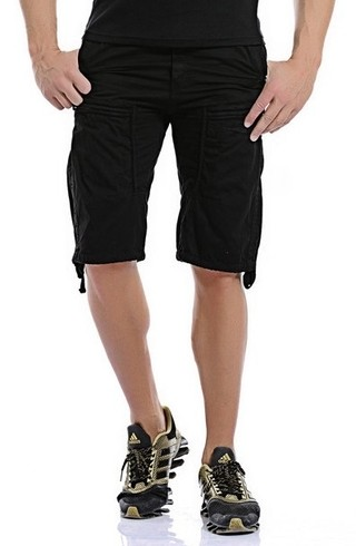 Shorts Fashion Military Style - with Pockets - in 4 Colors