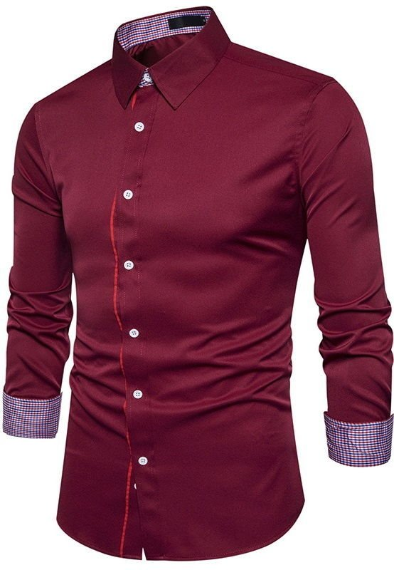 Camisa de Estilo Europeo Fashion - en 4 Colores en internet