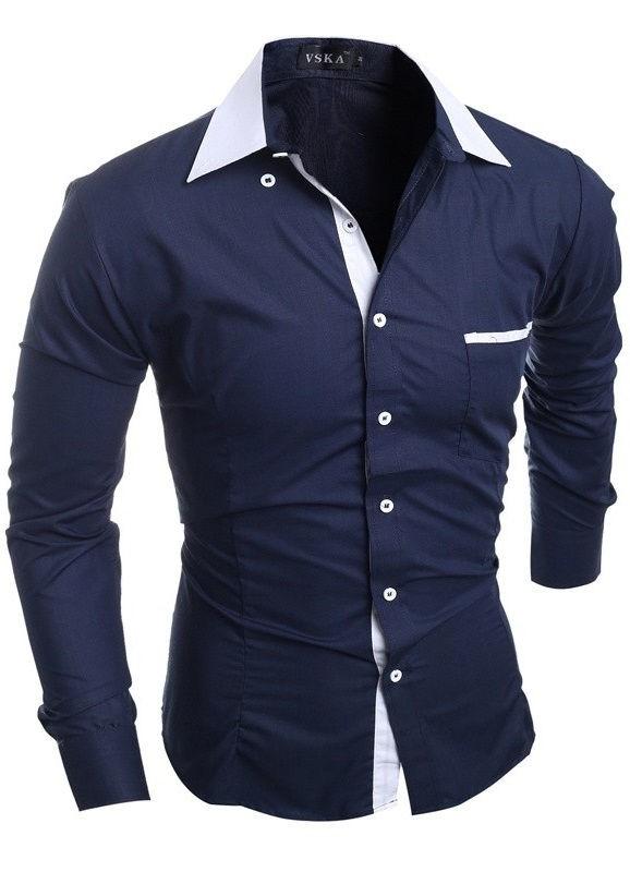 13767fb00 ... Camisa Sport Chic Fashion - Colores Juveniles - em 5 Colores - Camisas  de Hombre  ...