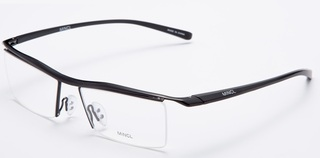 Titanium Sport Glasses - Black Frame