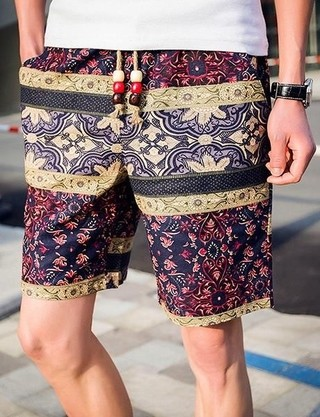 Youth Lino Shorts - Summer Floral - in 6 Colors