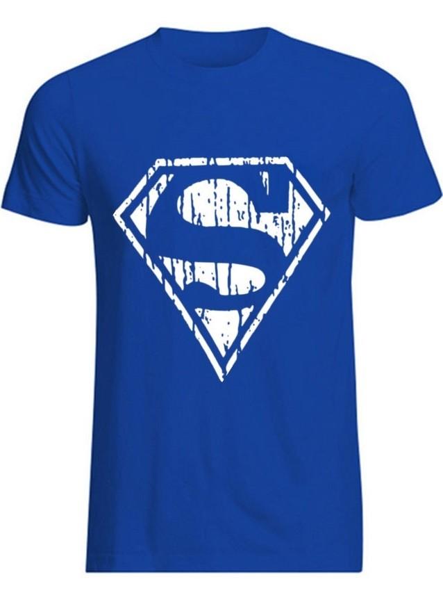 ... Camiseta Juvenil Basica - Diseño Superman en Blanco - en Rojo a8f6b16249a