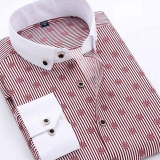 Camisa Casual Fashion Premium Estampado Moderno - Sailor - Roja