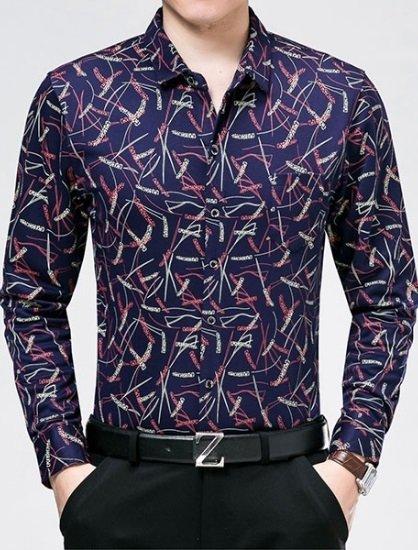 76afcfea36 Camisa de Vestir Elegante Juvenil - Diseño Exclusivo Sofisticado
