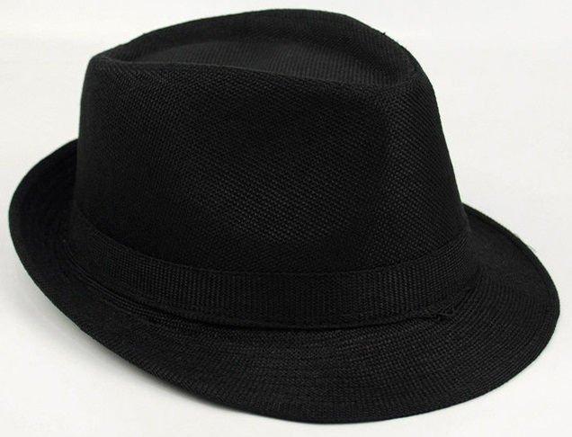 f3bc3a8fe3508 Sombrero de Playa Casual - en Azul y Negro - comprar online ...