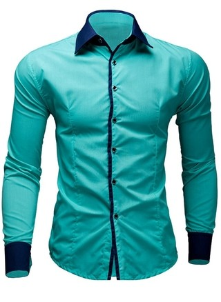 Shirt Solid Fashion - Fashion and Actual Colors - in 8 Colors