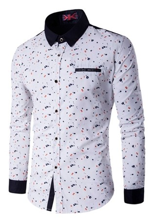Modern Shirt, Youth and Elegant - Polka Dots - in 4 Colors