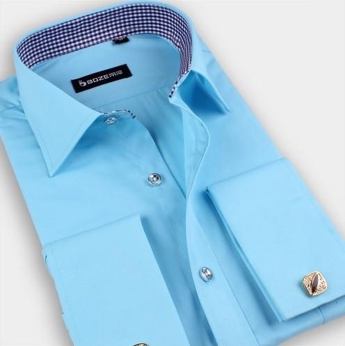 Clásica Camisa En De Vestir Premium Lisa Para Usar 6 Con Colores Gemelos D9IWH2eEYb