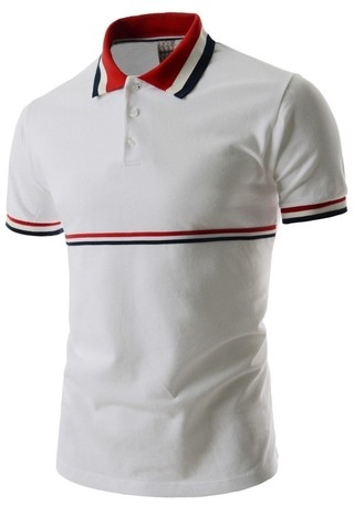 Polo Camisa Blanco