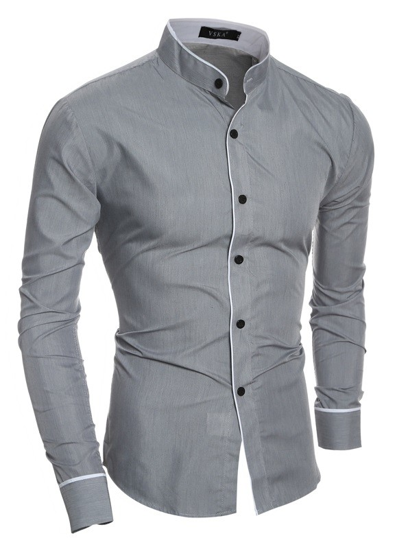 Slim Shirts Mens