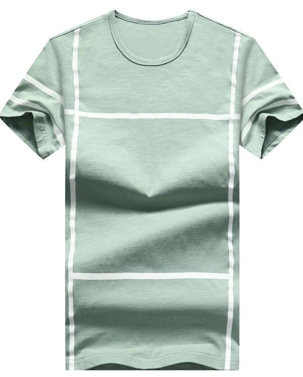 8c63dd5103515 Camiseta Juvenil Fashion - Diseño Moderno a Cuadros - en 5 Colores - tienda  online ...