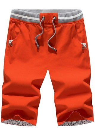 Shorts Juvenil Sport in Cotton - Summer Fashion - in 4 Colors