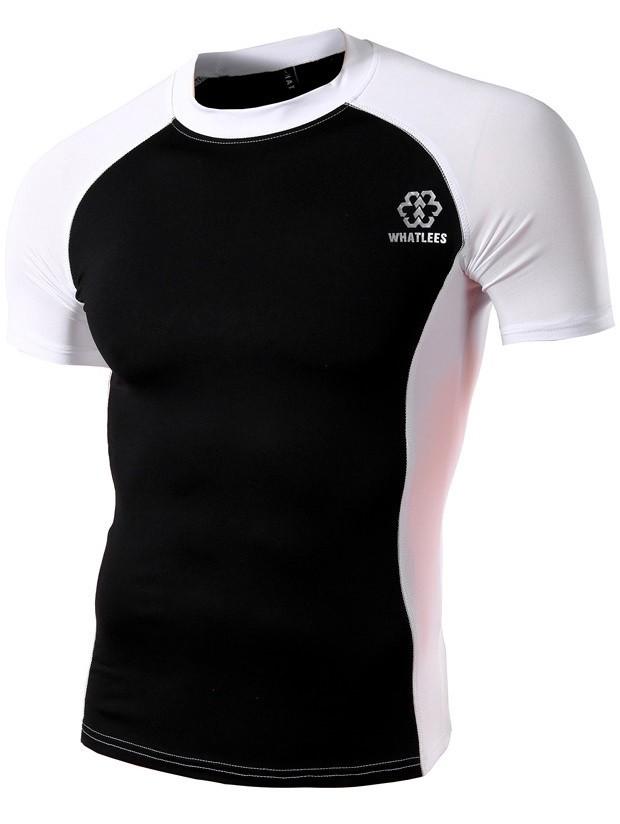 Camiseta Deportiva Dry Fit - en Dos Colores - en Negro fa3d670607f