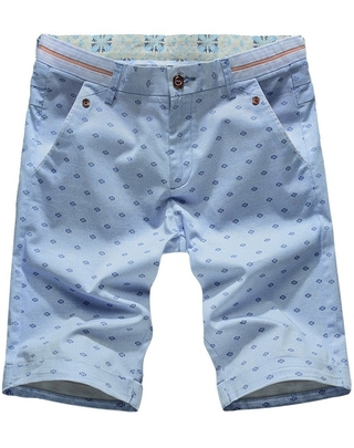 Shorts Cuts with Youth Fashion Design - in Blue, Green and Khaki