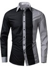 Fashion Casual Shirt in Two Colors - Modern Design - in 4 Colors on internet