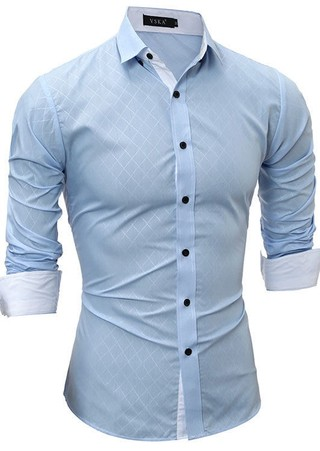 Stylish Fashion Style Shirt - Front Detail - in 4 Colors
