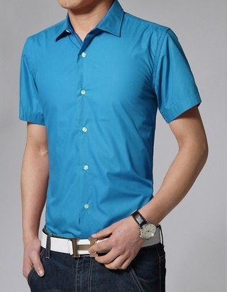 Fashion Short Sleeve shirt Solid Color - in 15 Colors