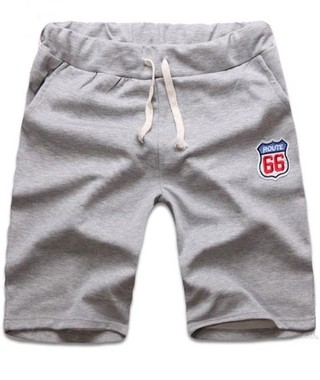 Casual Shorts Sport - Gray, Blue and Black