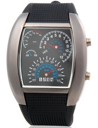 1aeb4236ea1 Relógio Digital Japonês Estilo Carro de Corrida - comprar online