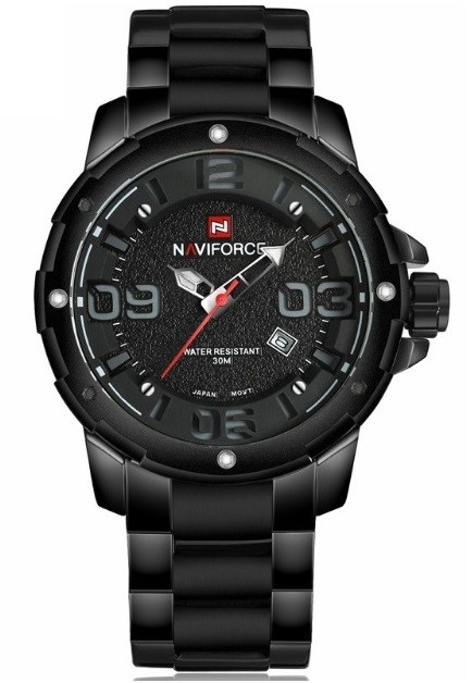 Reloj Fashion NAVIFORCE 9078 Estilo Militar - Negro - en 4 Colores en internet