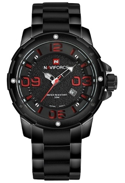 Reloj Fashion NAVIFORCE 9078 Estilo Militar - Negro - en 4 Colores - comprar online
