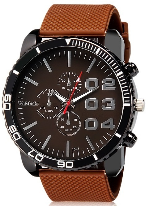 Reloj Womage 1091 Masculino Analogo