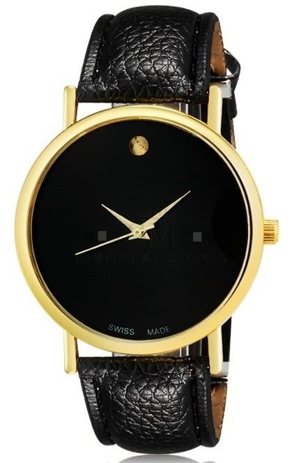 52a2d8fc182 Relógio Feminino WoMaGe 1089 Analogico Estilo Moderno - Preto
