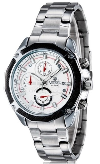 Reloj Masculino Fashion VALIA 8606 Analogo - Blanco