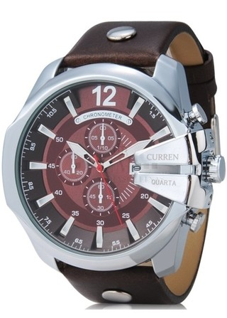 Reloj Masculino Fashion CURREN 8176 Sport - Cafe