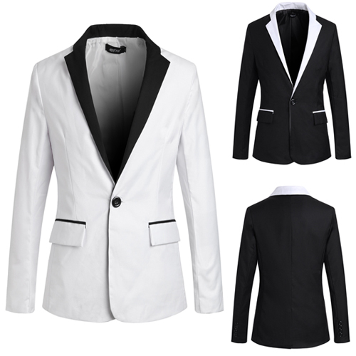 Blazer Elegante Fashion - Estilo Smoking