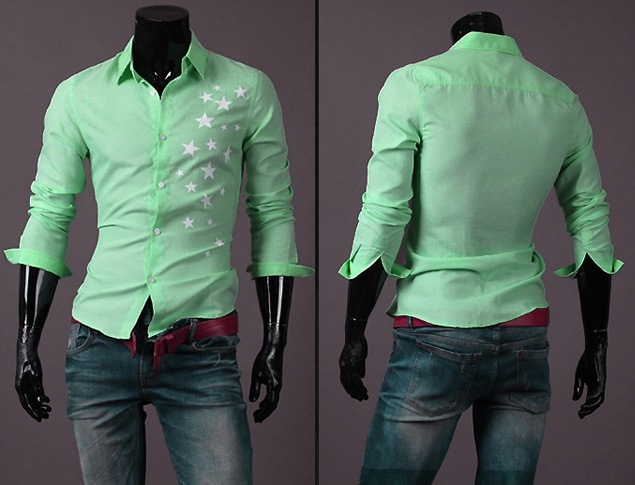Camisa Casual Fashion - Diseñada - Verde
