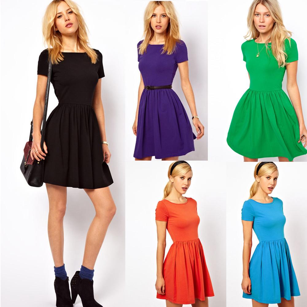 b4ea0d9ec Vestido Casual Fashion - Estilo Romance - en 5 Colores
