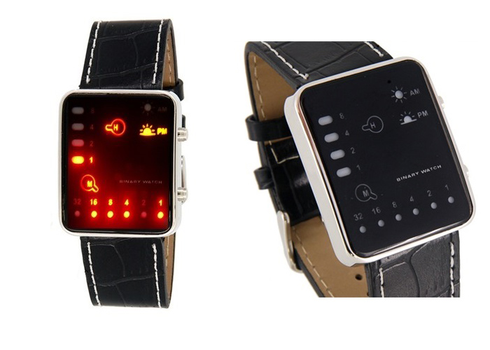 Reloj Juvenil Fashion - Display Binario - Pantalla LED