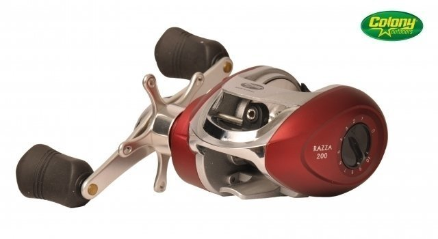 REEL COLONY ROT. RAZZA 200