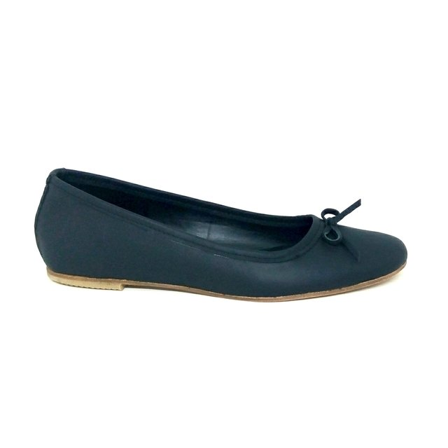 REMBRANDT-CHATA CLASICA CON MOÑO (ZFE505) - MAGALI SHOES