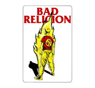 Bad Religion - Boy On Fire [Adesivo]