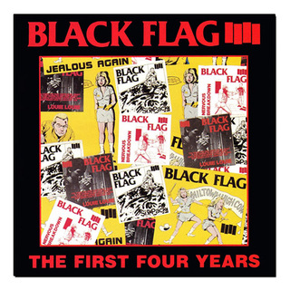 Black Flag - The First Four Years [LP]