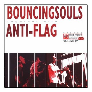 Boucing Souls & Anti-Flag - BYO Split Series Vol. IV [LP]