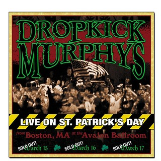 Dropkick Murphys - Live On St. Patrick's Day [2xLP]