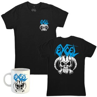 Combo: Excel - Skull & Horns + Caneca