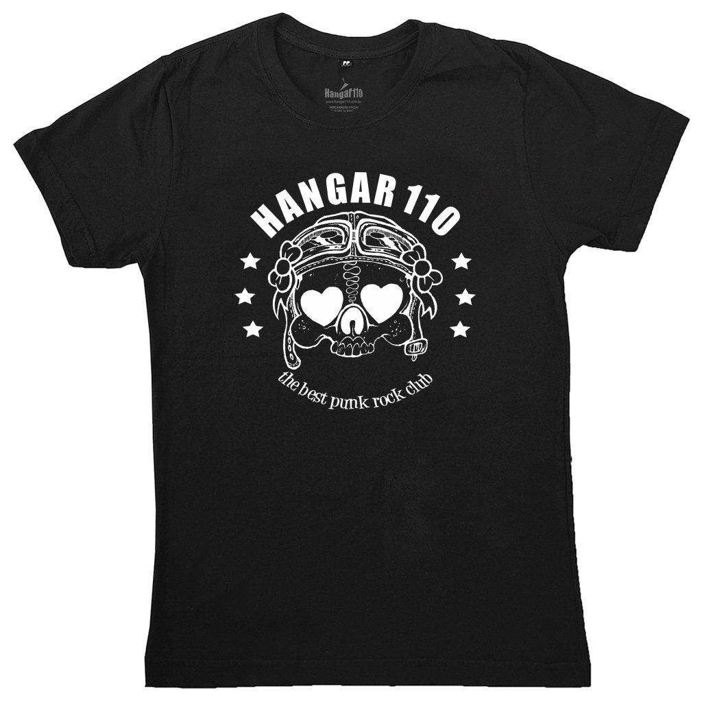 5abfeeb16 Camiseta feminina Hangar 110 - Caveira - HSmerch.com — HSmerch.com