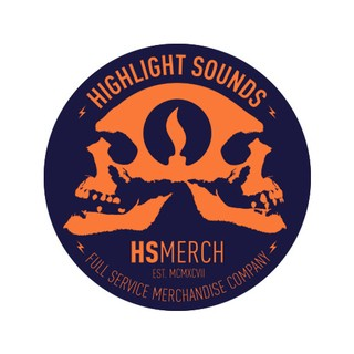 Highlight Sounds - HS Merch Skulls [Adesivo]