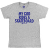 Highlight Sounds - My God Rides A Skateboard [Camiseta]