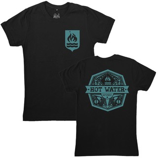 Hot Water Music - Shield Tee  + Adesivo