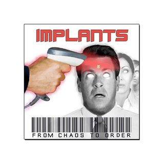 Implants - From Chaos To Order [CD Digipack]