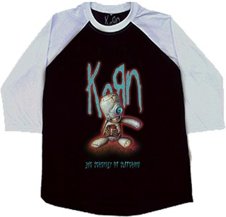 KORN - The Sererity Of Suffering  + Adesivo [Raglan 3/4]